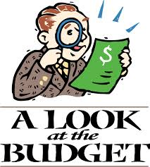 Budget - Take a look at the budget