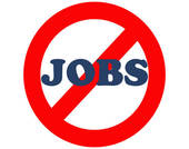 Jobs - No jobs sign