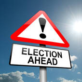 Election Ahead - Sign