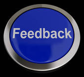 Feedback Button - Blue