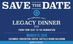 Legacy Dinner - Save the Date - 3.13.16