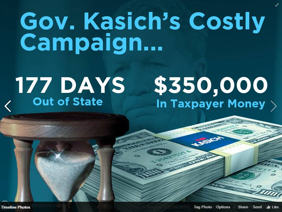 Kasich - Security Costs